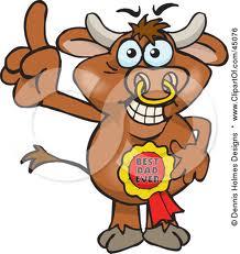 Bull Cartoon 1